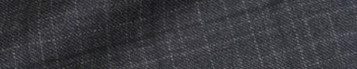 【Dov_9w41】グレーチェック+4.5×4cmブラックペーン