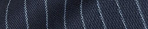 【Cb_8w007】ライトネイビー+1.1cm巾水色ストライプ