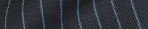 【Cb_8w008】グレー+1.1cm巾水色ストライプ