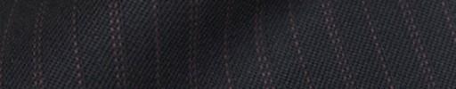 【Cb_8w009】ダークネイビー+1.4cm巾レッドピンク交互ストライプ