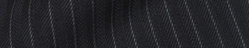 【Cb_8w019】ダークネイビーヘリンボーン柄+6ミリ巾ストライプ