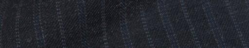【Cb_8w035】ダークグレー+1.5cm巾ブルー・ドット交互ストライプ