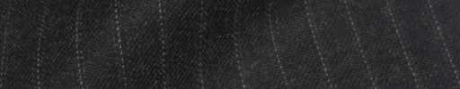 【Cb_8w067】チャコールグレー+8ミリ巾白・赤茶ストライプ