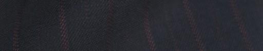 【Cb_8w092】ネイビー+1.5cm巾レッド交互ストライプ