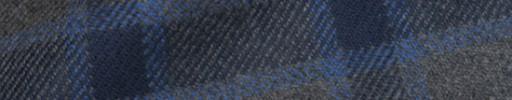 【Ha_8mb38】チャコールグレー+7×6cmネイビー・ブルータータン