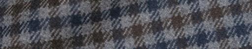 【Ha_8mb41】ライトブルーグレー・ブラウン・ネイビーガンクラブチェック