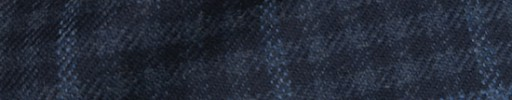 【Ha_8mb49】ブルーグレー×ネイビー・シェパードチェック+6×5cmブループレイド