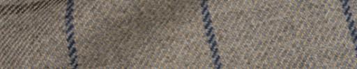 【Ha_8mb50】ベージュ+7×5.5cmダークブルー・ブラウンプレイド