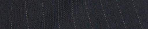 【Ib_8w203】ネイビー+8ミリ巾織り・ドット交互ストライプ