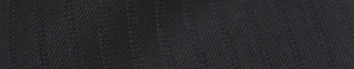 【Ib_8w206】ブラック+6ミリ巾織り・ブルーストライプ