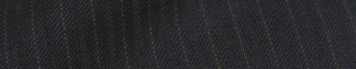 【Ib_8w216】ダークネイビーヘリンボーン+6ミリ巾赤ドットストライプ