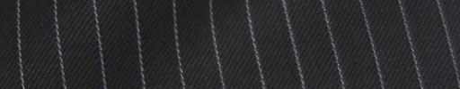 【Ib_8w245】ブラック+6ミリ巾ライトパープルストライプ