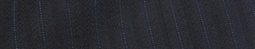 【Ib_8w246】ミッドナイト+9ミリ巾織り・ドット交互ストライプ