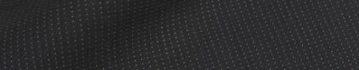 【Ib_8w506】ブラック+2ミリ巾ドットストライプ