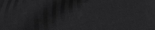 【Ib_8w521】ブラック3ミリ巾織りストライプ