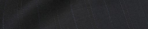 【Ib_8w561】ブラックヘリンボーン柄+2.4cm巾ブルー・織り交互ストライプ