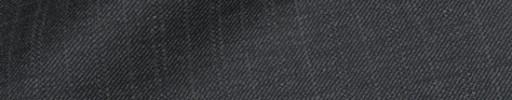 【Ib_8w577】チャコールグレー+1.3cm巾織り交互ストライプ