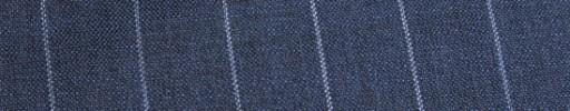 【Ca_91s19】ロイヤルブルー+2cm巾白ストライプ