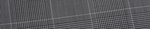 【Ca_91s56】グレー8.5×6.5cmグレンチェック