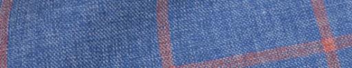 【Hs_oc9s01】インディゴ+5.5×4.5cm赤ウィンドウペーン