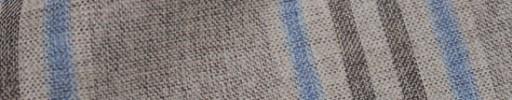 【Hs_oc9s05】ライトブラウン×ブラウン×ブルー9×4.5cmタータン