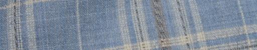 【Hs_oc9s11】ライトブルー×ライトイエロー・ベージュ7.5×6.5cmタータン