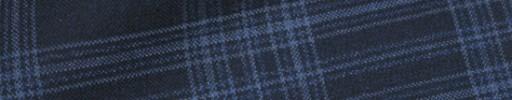 【Hs_oc9s19】ネイビー+6.5×5.5cmブルーファンシーチェック
