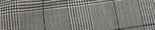【Hs_st9s41】白黒5.5×4.5cmグレンチェック