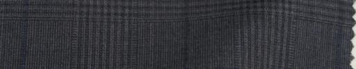 【Sp_9s09】ミディアムグレー6×5cmチェック+ブループレイド