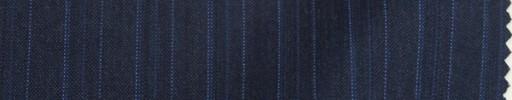 【Sp_9s11】ダークブルーグレー+1.5cm巾ブルーイレギュラーストライプ
