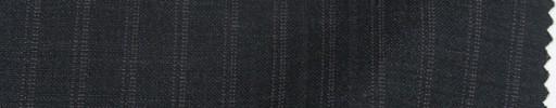 【Sp_9s12】チャコールグレー+1cm巾織り・ドット交互ストライプ