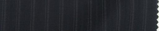 【Sp_9s13】ダークネイビー+1cm巾織り・ドット交互ストライプ