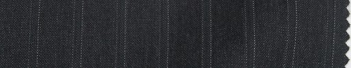 【Sp_9s14】チャコールグレー+1.4cm巾織り・ドットストライプ