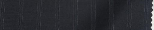 【Sp_9s15】ダークネイビー+1.4cm巾織り・ドットストライプ