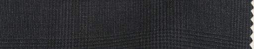 【Bc_sp17】チャコールグレー5×4cmグレンチェック+オーバーペーン