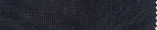 【Bc_sp18】ネイビー5×4cmグレンチェック+オーバーペーン