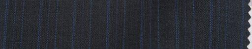 【Bc_sp30】チャコールグレー柄+1.5cm巾織り・ライトブルードット交互ストライプ