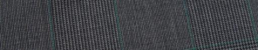 【Ca_91s29】グレー8.5×6.5cmグレンチェック+グリーンプレイド