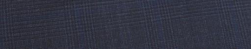 【Ca_91s36】ダークブルーグレー5.5×3.5cmグレンチェック+ブループレイド