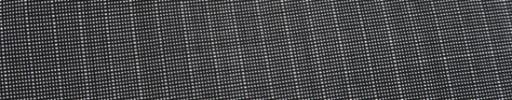 【Ca_91s37】グレー・黒ピンチェック+6ミリ巾ストライプ