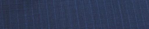 【Ca_91s38】ライトネイビー・黒ピンチェック+6ミリ巾ストライプ