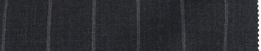 【Ca_91s622】チャコールグレー+2.3cm巾ボールドストライプ