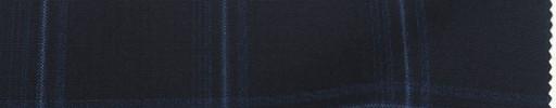 【Ca_91s624】ネイビー+5.5×4.5cmブルーチェック