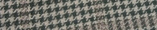 【Ca_91s81】グリーン×オフホワイトシェパードチェック+7×6cmライトブラウンチェック