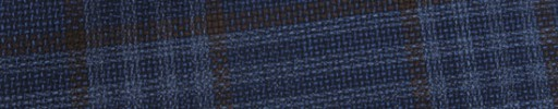 【Ca_91s84】ネイビー+8×7cmブラウン・ライトブルーファンシープレイド