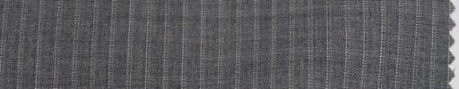 【Cm_9s02】ミディアムグレー+5ミリ巾Wドット・織りストライプ