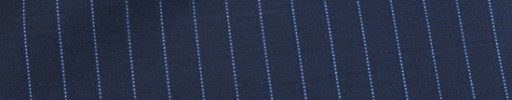 【Dol_9s30】ネイビー+8ミリ巾ライトブルー・織りストライプ