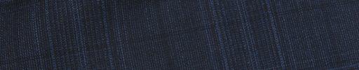 【Dov_0s46】ダークネイビー6×5.5cmグレンチェック+ブルー・黒ペーン