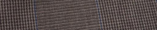 【Hf_9s10】レッドブラウン10.5×8.5cmグレンプレイド+ブルーチェック
