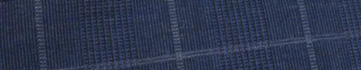 【Hf_9s20】ダークブルー6.5×4.5cmグレンチェック+白チェック